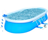 Bestway Oval Fast-Set Pool 549 x 366 x 122cm Komplett-Set (56153)