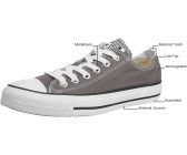 Converse Chuck Taylor All Star Ox - charcoal (1J7949)