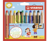 Stabilo Woody 3 in 1 Multistift 10er