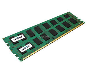 Crucial 4GB Kit DDR3 PC3-10600 CL9 (CT2KIT25664BA1339)