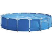 Intex Metal Frame Pool 457 x 122 cm Komplett-Set