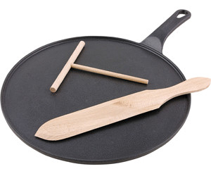 Chasseur Cast Iron Crepe Pan 30cm Matt Black