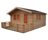 B&Q Kinver Cabin Natural
