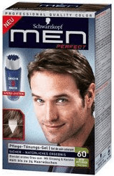 Schwarzkopf RE-NATURE Men Tönungs-Gel 60 Natur Mittelbraun