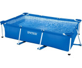 "Intex Rectangular Metal Frame Pool 7' x 5' x 24"" (58983)"