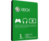 Microsoft Xbox LIVE One-Month Gold Subscription Card