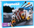 Playmobil Baliste triple projectile et chevaliers Lion (4867)