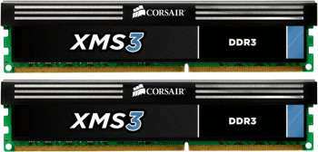 Corsair XMS3 8GB Kit DDR3 PC3-10666 CL9 (CMX8GX3M2A1333C9)