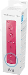 Nintendo Wii Remote Plus - Rose