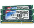 Patriot Signature 8GB Kit SO-DIMM DDR3 PC3-10600 CL9 (PSD38G1333SK)