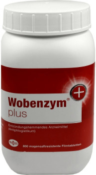 Mucos Wobenzym plus Tabletten (800 Stk.)