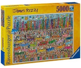 Ravensburger James Rizzi - Pop-Art-Puzzle (5.000 Teile)