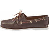 Timberland Classic 2-Eye Boat Shoe - Dark Brown Smooth 74035