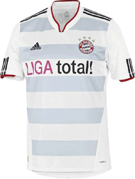 Adidas FC Bayern Mnchen Away Trikot 2011/2012
