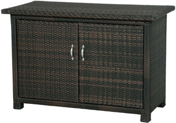 siena garden side rattan schrank 120 x 60 cm ab 0 00 preisvergleich bei. Black Bedroom Furniture Sets. Home Design Ideas