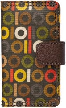 Trexta Orla Kiely Folio Case Binary (iPhone 4)