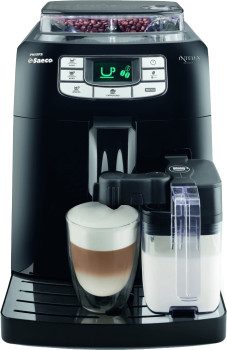 Philips Saeco Intelia One Touch Cappuccino HD8753/11 schwarz