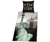 Herding New York Liberty (80 x 80 + 135 x 200 cm)