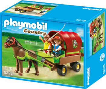 Playmobil Enfants et carriole (5228)