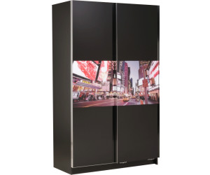 parisot new line 2 portes prix comparer sur. Black Bedroom Furniture Sets. Home Design Ideas