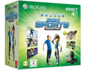 Microsoft Xbox 360 S 4GB + Kinect Adventures & Kinect Sports Season 2