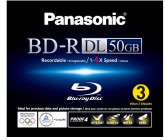 Panasonic BD-R 50Gb DL 270min 4x printable 3er Jewelcase