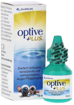 Pharm-Allergan Optive Plus Augentropfen (10 ml)