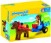 Playmobil 1.2.3 Charette Avec Poney (6779) comparatif
