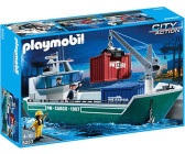 Playmobil Cargo Ship with Loading Crane (5253)