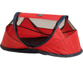 Deryan Travel Cot Baby Luxe red