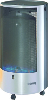 rowi gas heizofen blue flame 4200 w pure inox mit thermostat gasheizstrahler au enheizung. Black Bedroom Furniture Sets. Home Design Ideas