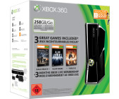 Microsoft Xbox 360 S 250GB + Halo Reach & Alan Wake & Fable III
