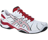 Asics Gel-Resolution 4 blanc/rouge/noir