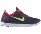 Nike Free Run+ 3 navy/volt/red