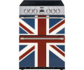 Stoves Sterling Mini Range 600E Union Jack Colour