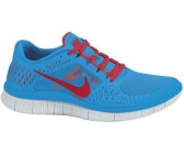 Nike Free Run+ 3 Blue Glow/University Red-Pure Platinum