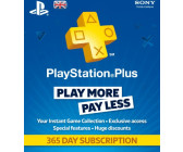 Sony PlayStation Plus 365 Day Subscription UK