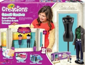 Buy Crayola Catwalk Creations House Of Fashion Compare: crayola fashion design studio reviews