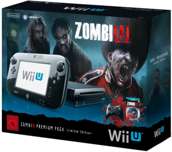 Nintendo Wii U ZombiU Premium Pack Limited Edition