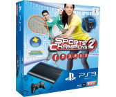 Sony Playstation 3 (PS3) Super slim 500GB Sports Champions 2 Bundle