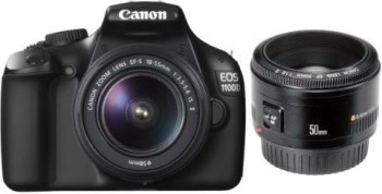 Canon EOS 1100D Kit 18-55 mm + 50 mm