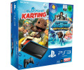 Sony PlayStation 3 (PS3) Super slim 500GB + PlayStation All-Stars: Battle Royale + Little Big Planet: Karting