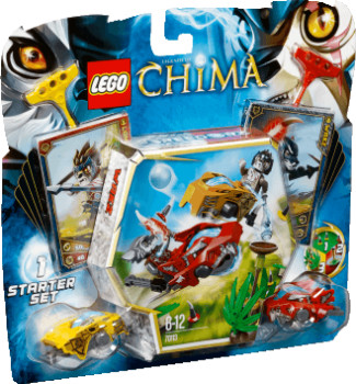 Lego Legends of Chima - Duel pour le Chi (70113)