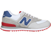New Balance 574 beige/white/blue