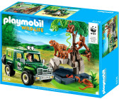 Playmobil WWF Jungle Animals with Researcher and Off-Road Vehicle