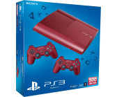 Sony PlayStation 3 (PS3) Super slim 500GB (rot)