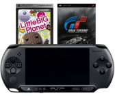 Sony PSP Street E1000 + Gran Turismo + Little Big Planet
