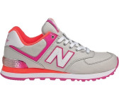 New Balance WL574 light grey/pink