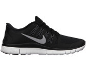 Nike Free 5.0+ Women Black/Metallic Silver-Dark Grey-White