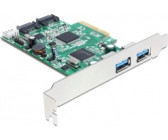 DeLock PCI Express Karte > 2 x extern USB 3.0, 2 x intern SATA 6Gb/s (89359)
